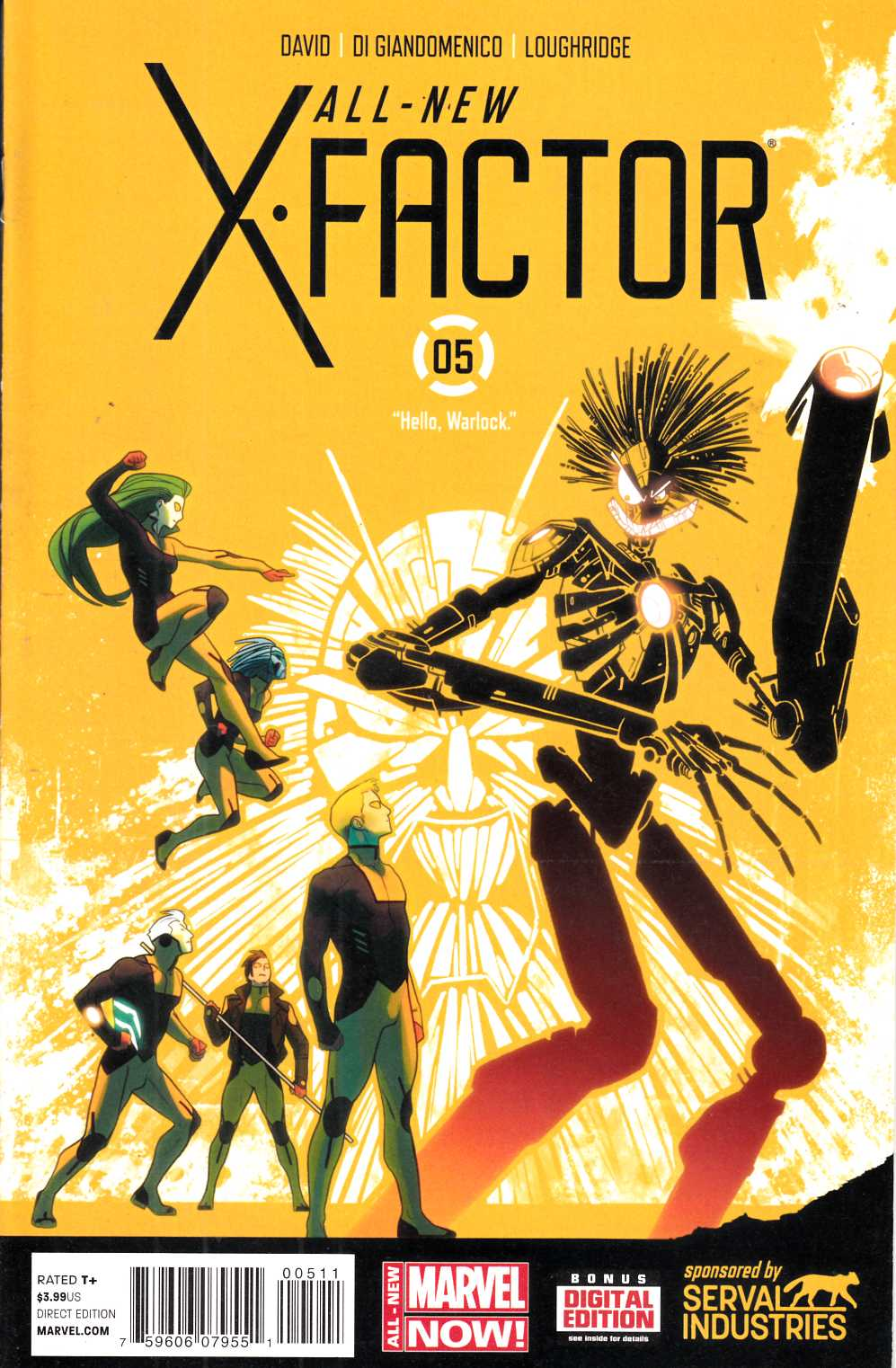 All New X-Factor #5 Near Mint (9.4) [Marvel Comic] LARGE