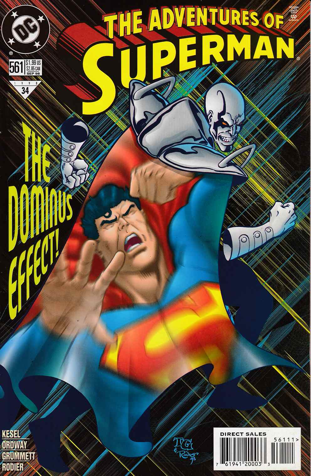 Adventures of Superman #561 Very FIne (8.0) [DC Comic] LARGE