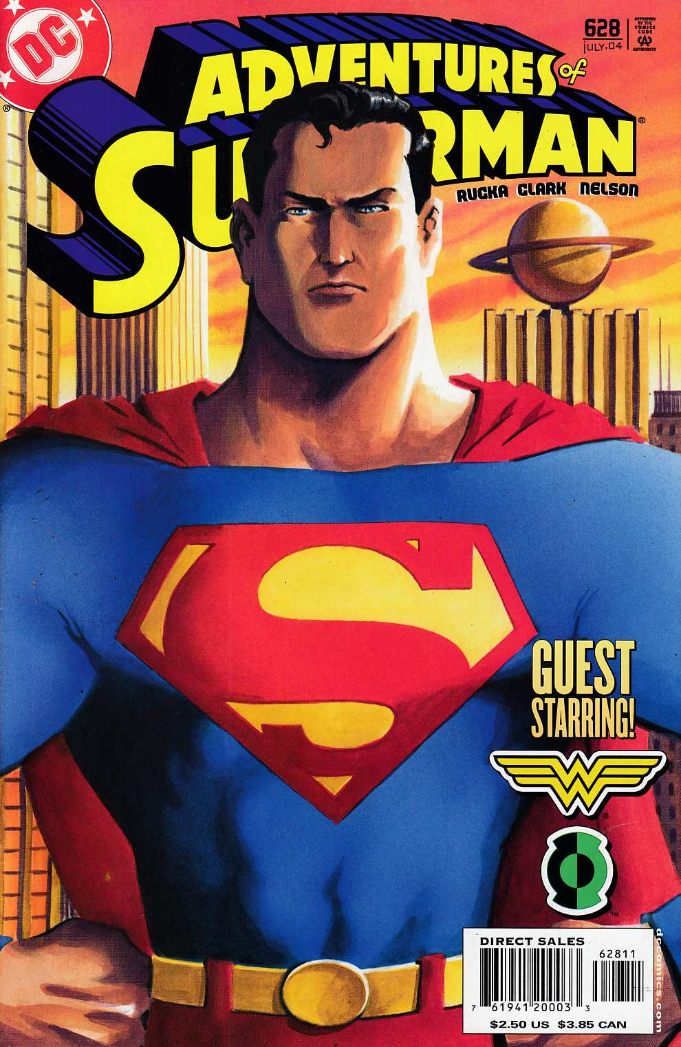 Adventures of Superman #628 Very Fine (8.0) [DC Comic]