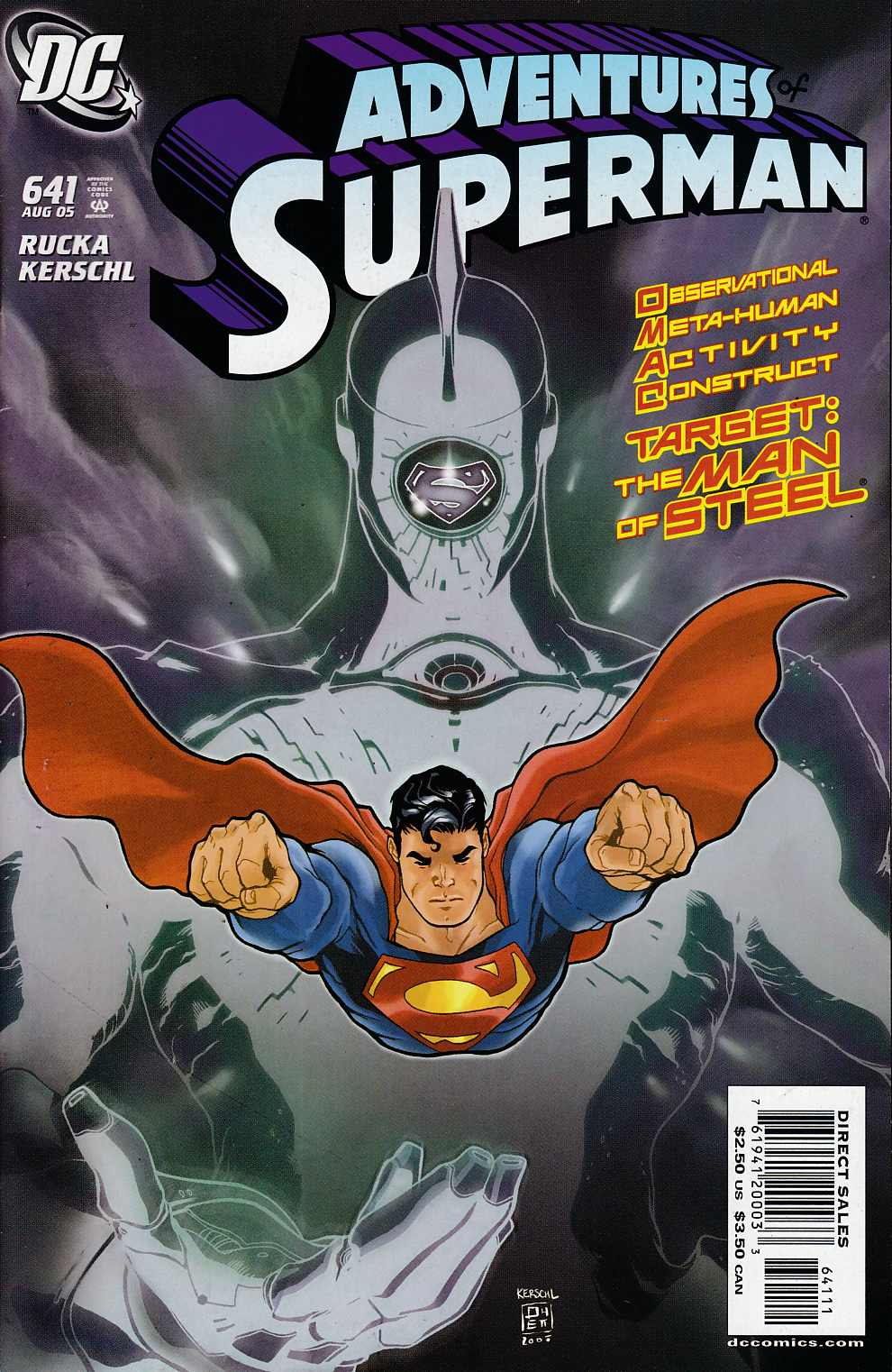 Adventures of Superman #641 Very Fine (8.0) [DC Comic]