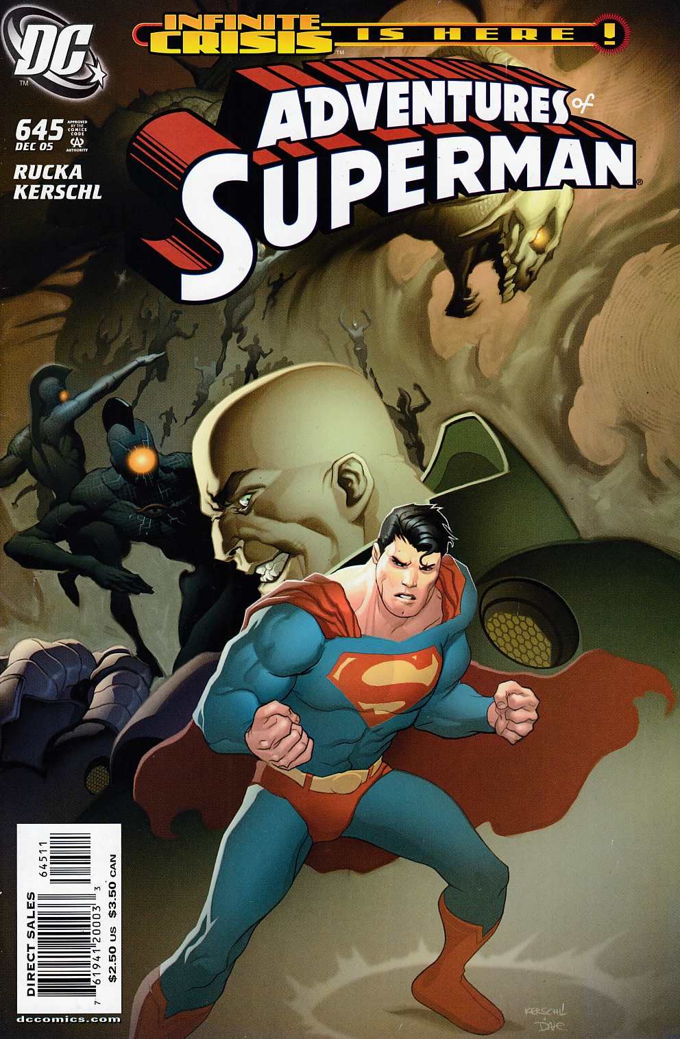 Adventures of Superman #645 Very Fine (8.0) [DC Comic] LARGE