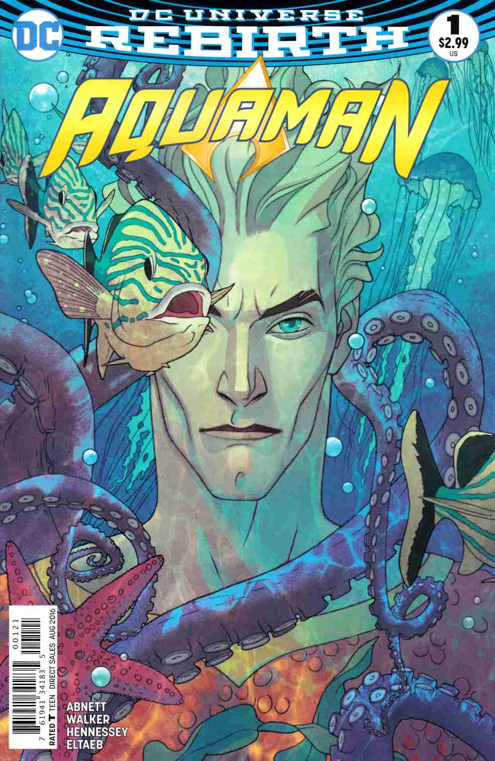 Aquaman #1 Middleton Variant Cover [DC Comic] THUMBNAIL