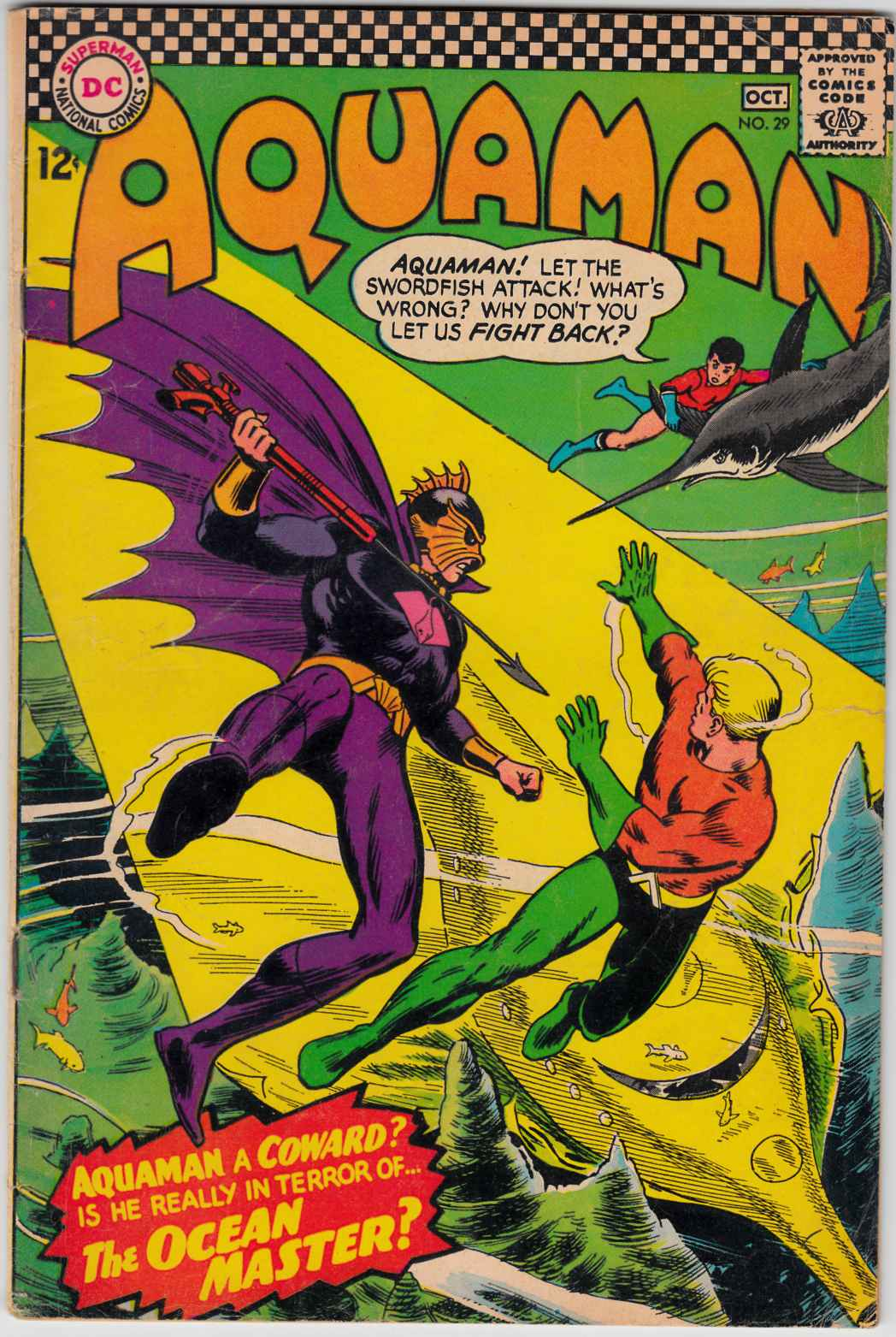 Aquaman #29 Very Good (4.0) [DC Comic] THUMBNAIL