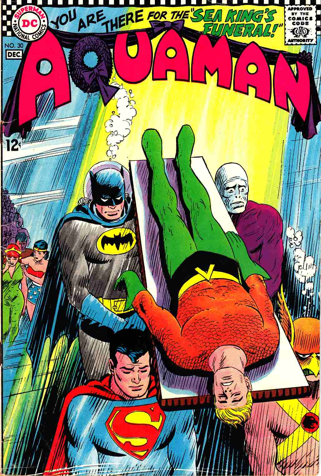 Aquaman #30 Fine Plus (6.5) [DC Comic]