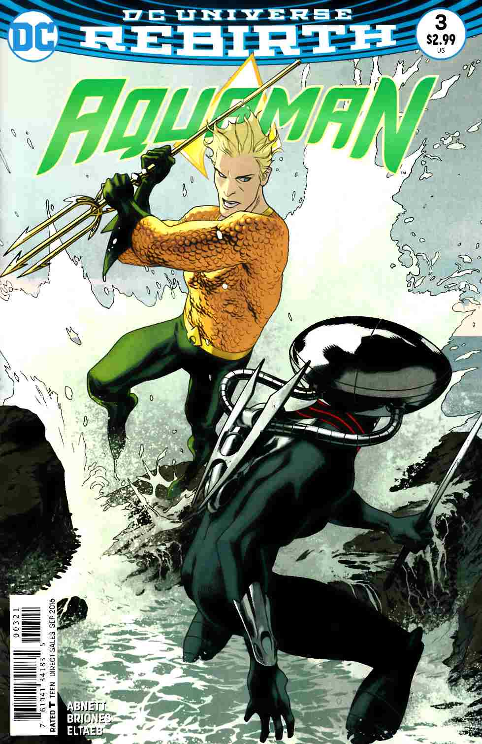Aquaman #3 Middleton Variant Cover [DC Comic] THUMBNAIL