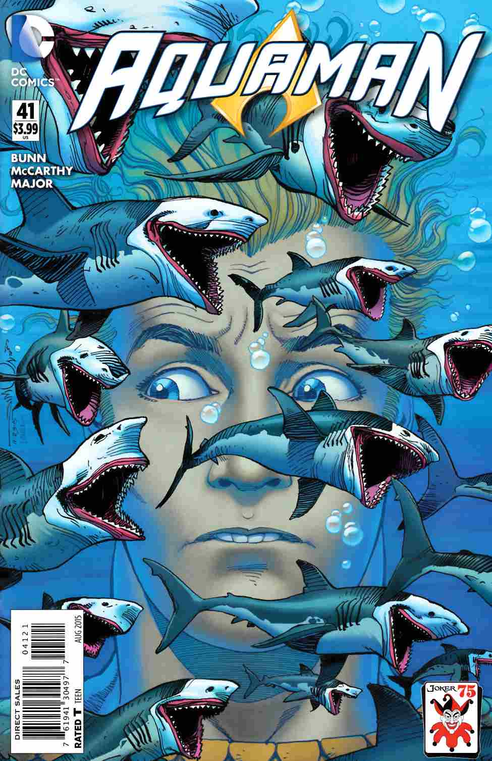Aquaman #41 The Joker Variant Cover [DC Comic] THUMBNAIL