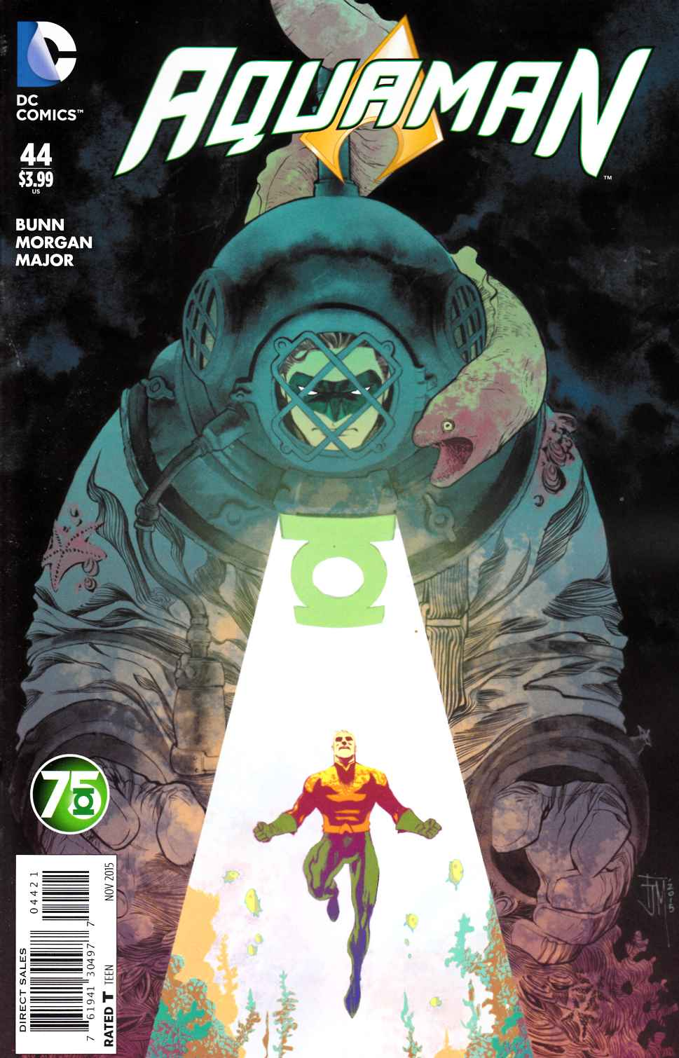Aquaman #44 Green Lantern 75th Variant Cover [DC Comic] THUMBNAIL