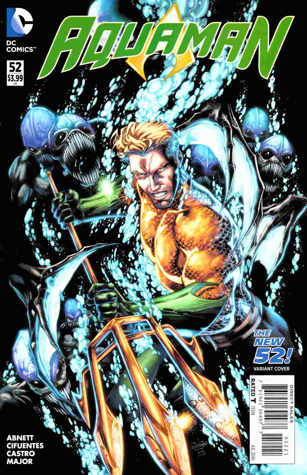 Aquaman #52 Booth Variant Cover [DC Comic] THUMBNAIL