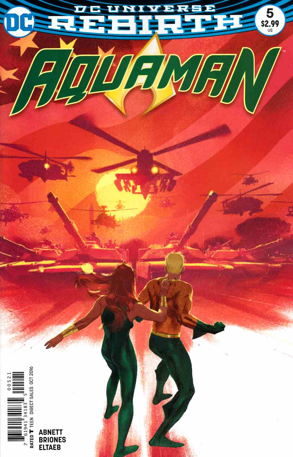 Aquaman #5 Middleton Variant Cover [DC Comic] THUMBNAIL