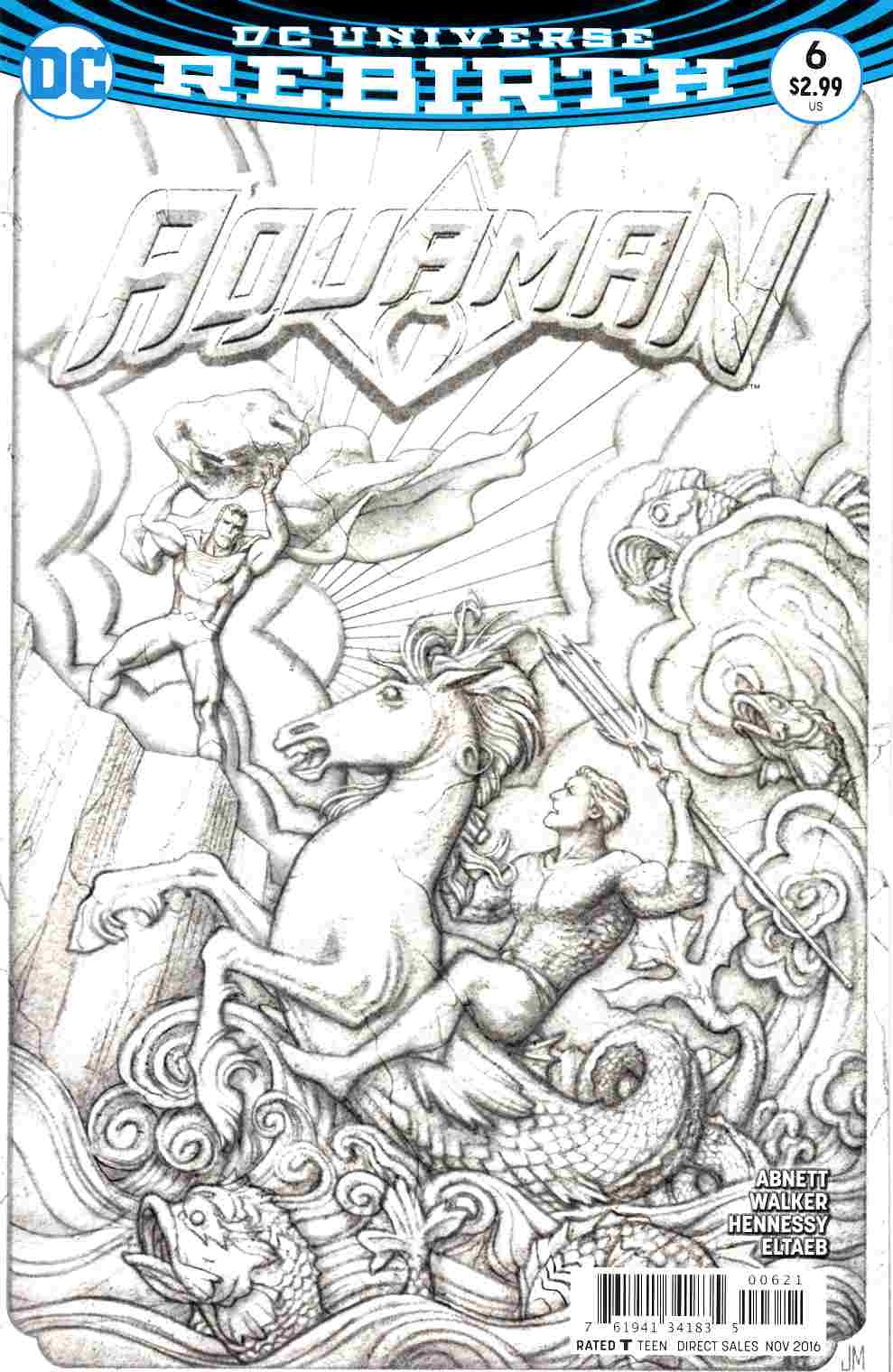 Aquaman #6 Middleton Variant Cover [DC Comic] THUMBNAIL