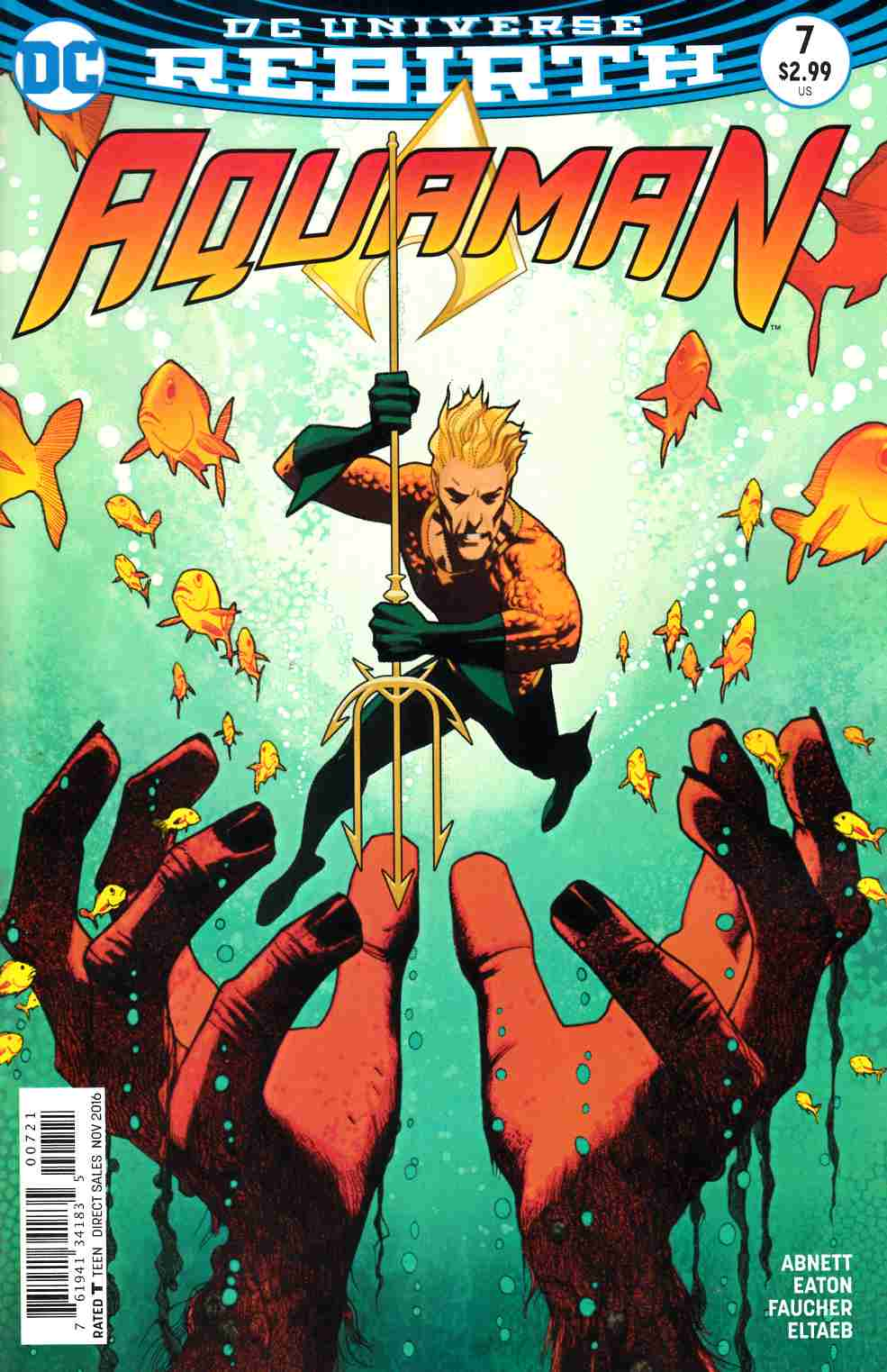 Aquaman #7 Middleton Variant Cover [DC Comic] THUMBNAIL