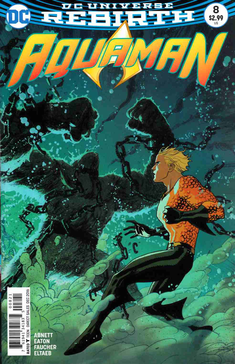 Aquaman #8 Middleton Variant Cover [DC Comic] THUMBNAIL