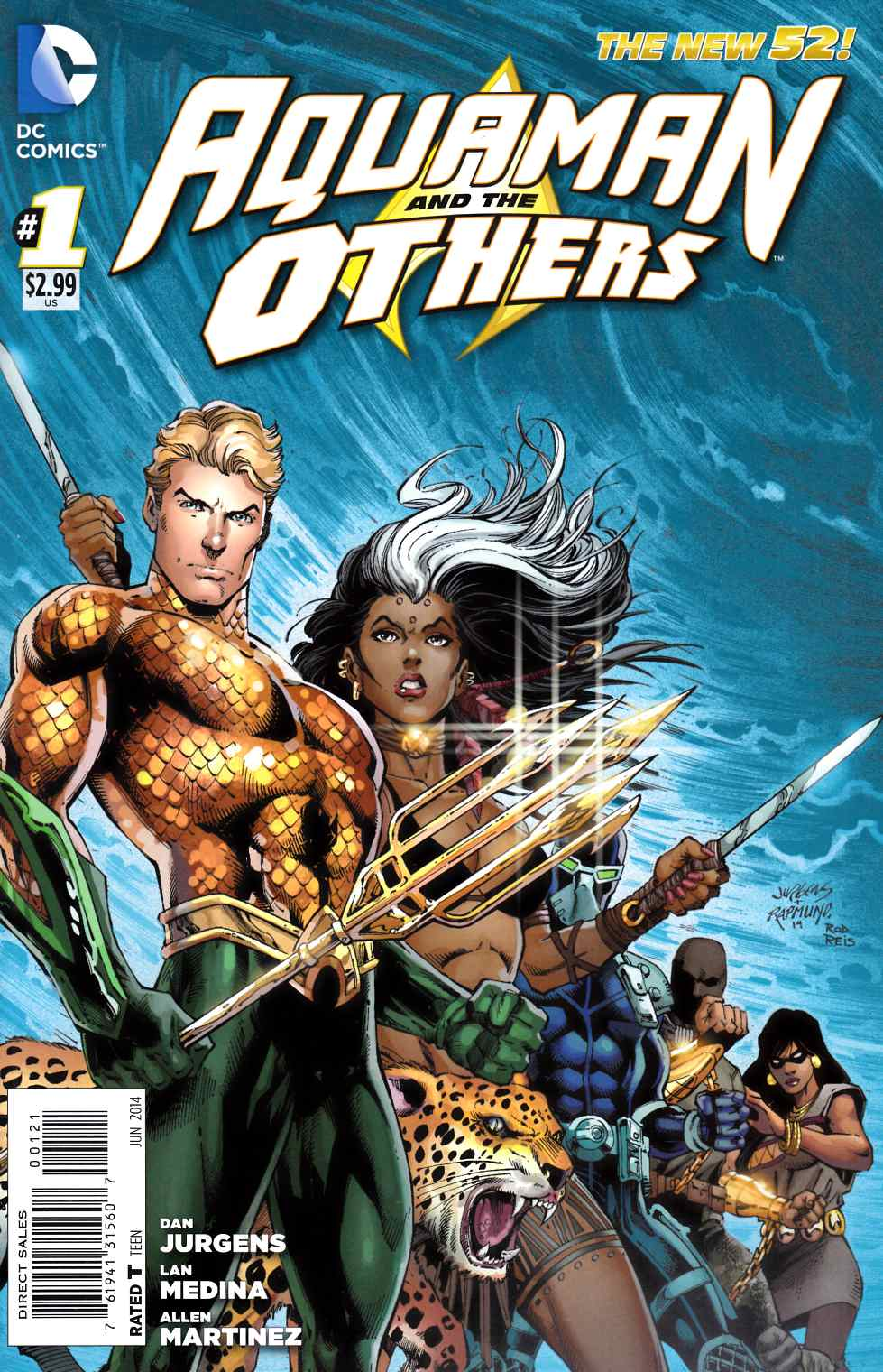 Aquaman and the Others #1 Jurgens Variant Cover [Comic]_THUMBNAIL