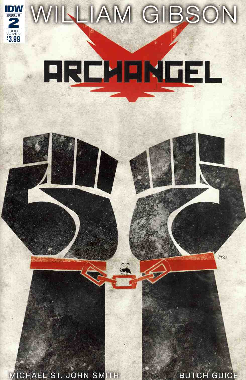 Archangel #2 Subscription Cover B [IDW Comic] THUMBNAIL