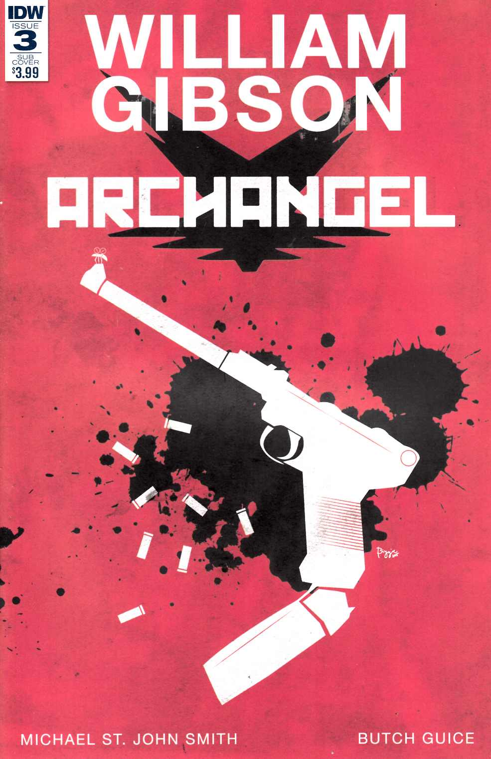 Archangel #3 Subscription Cover [IDW Comic] LARGE