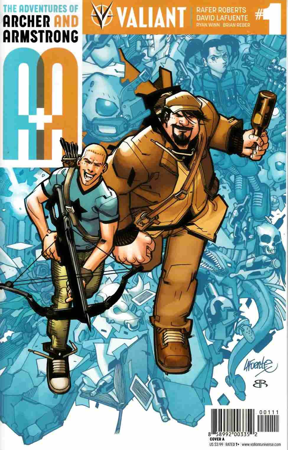 Archer & Armstrong #1 Cover A- Lafuente [Valiant Comic] LARGE