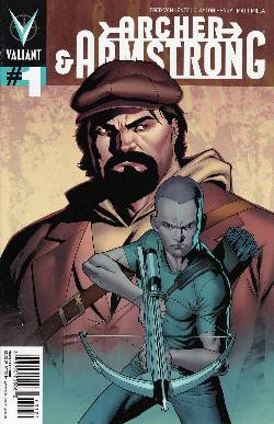 Archer & Armstrong #1 Henry Cover [Comic]