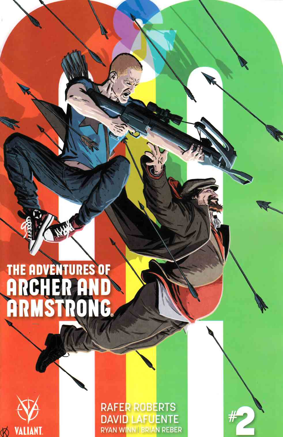 Archer & Armstrong #2 Cover B [Valiant Comic] THUMBNAIL