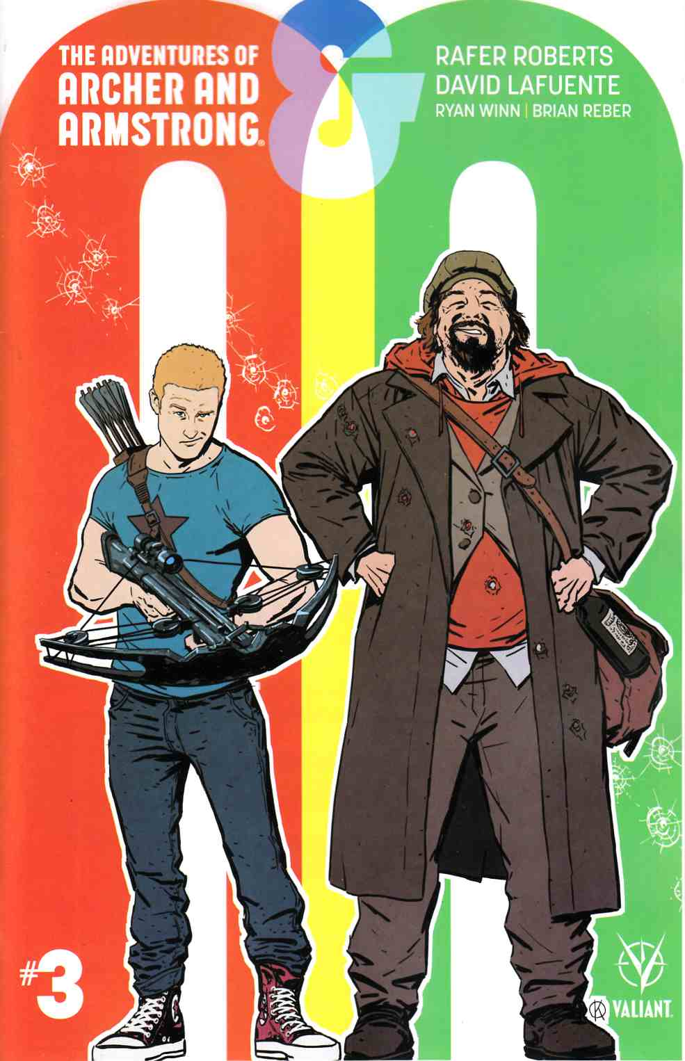 Archer & Armstrong #3 Cover B [Valiant Comic] LARGE