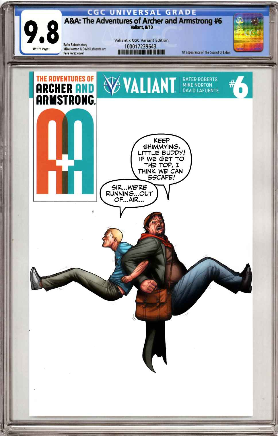 Archer & Armstrong #6 Cover D [Valiant Comic] LARGE