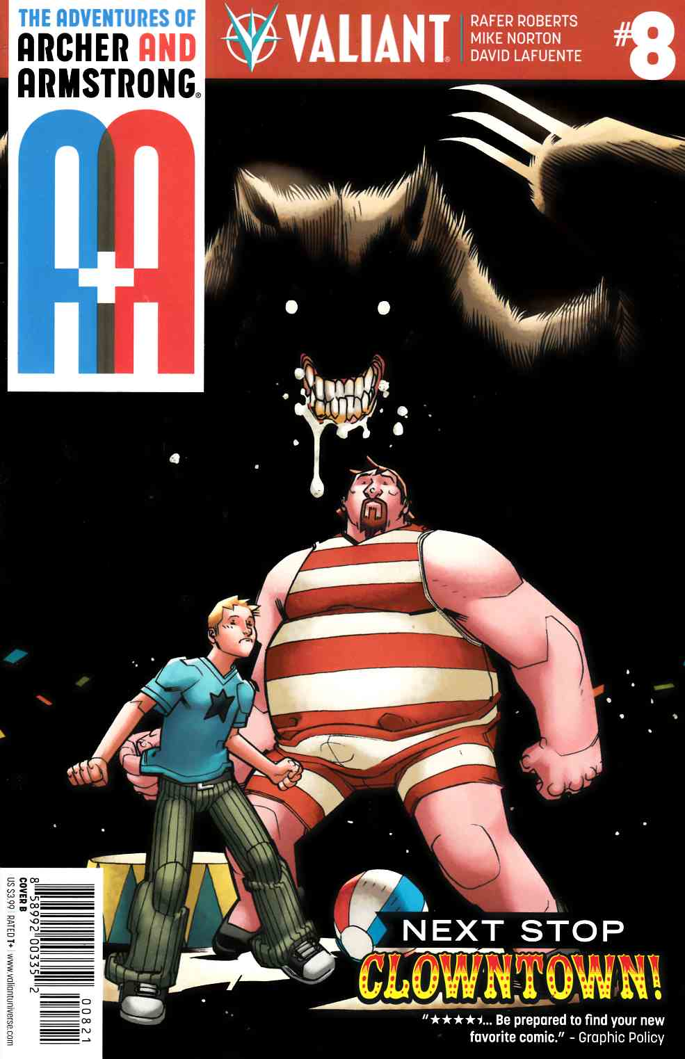 Archer & Armstrong #8 Cover B [Valiant Comic]_THUMBNAIL