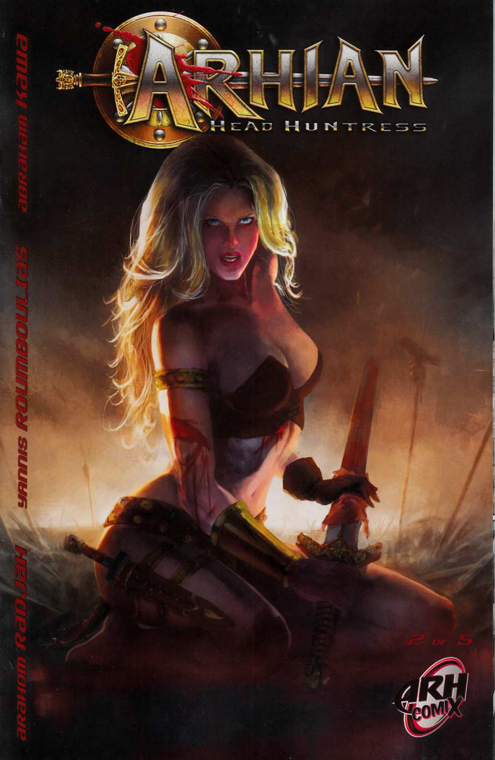 Arhian Head Huntress #2 [ARH Comic] LARGE