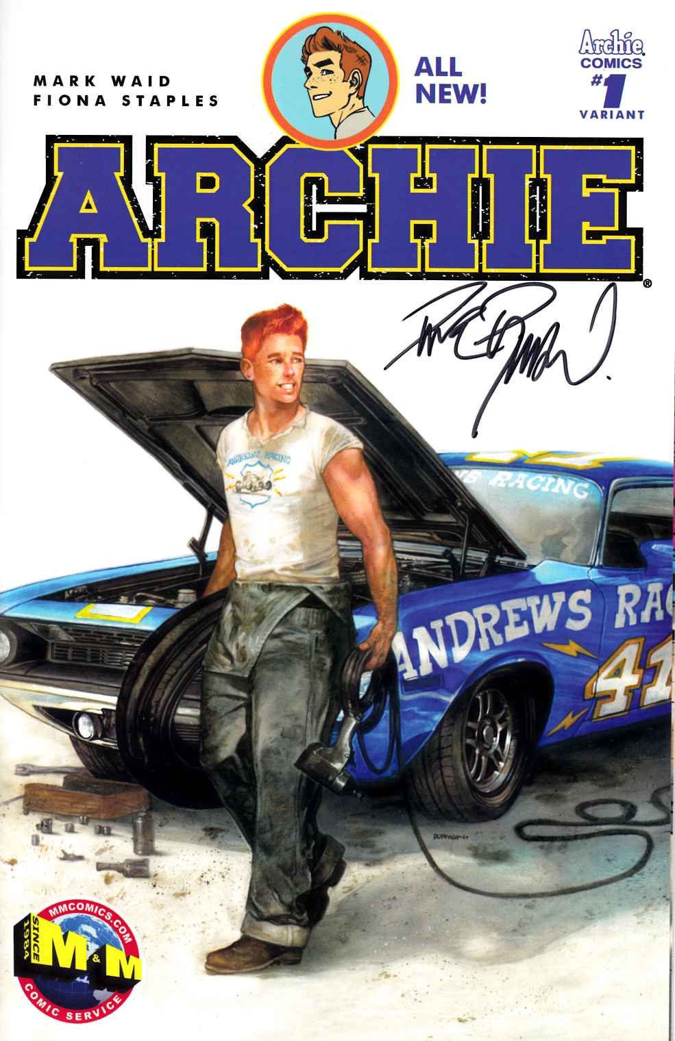 Archie #1 Dave Dorman Exclusive Cover Signed Edition [Archie Comic] THUMBNAIL