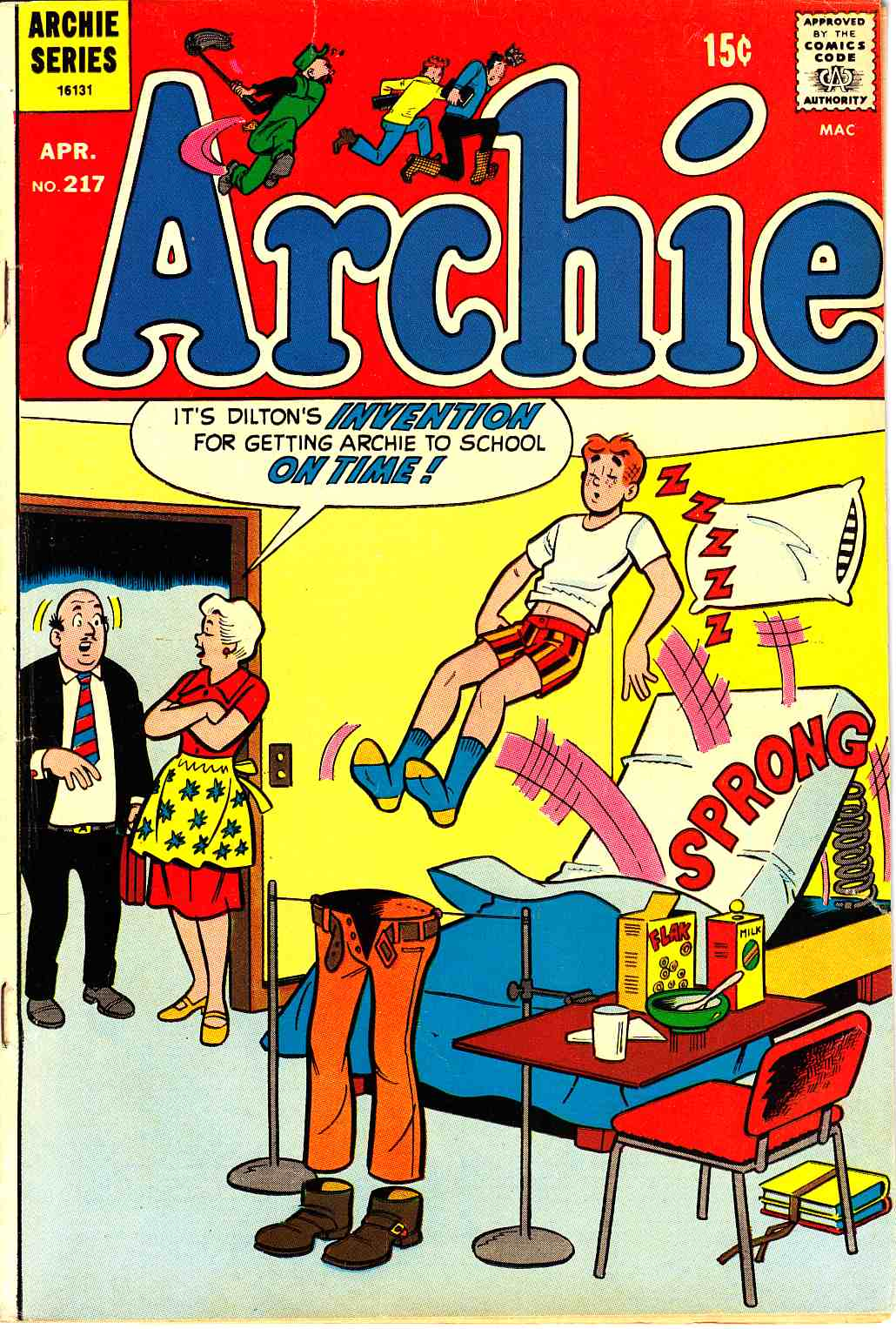 Archie #217 [Archie Comic] LARGE