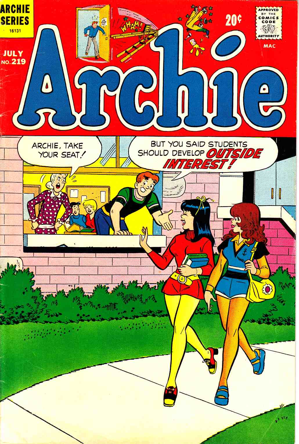 Archie #219 [Archie Comic] LARGE