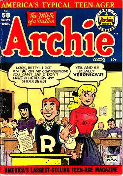 Archie #58 [Archie Comic] LARGE