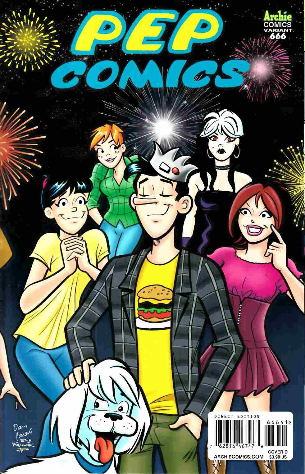 Archie #666 Jughead Variant Cover [Archie Comic]_LARGE