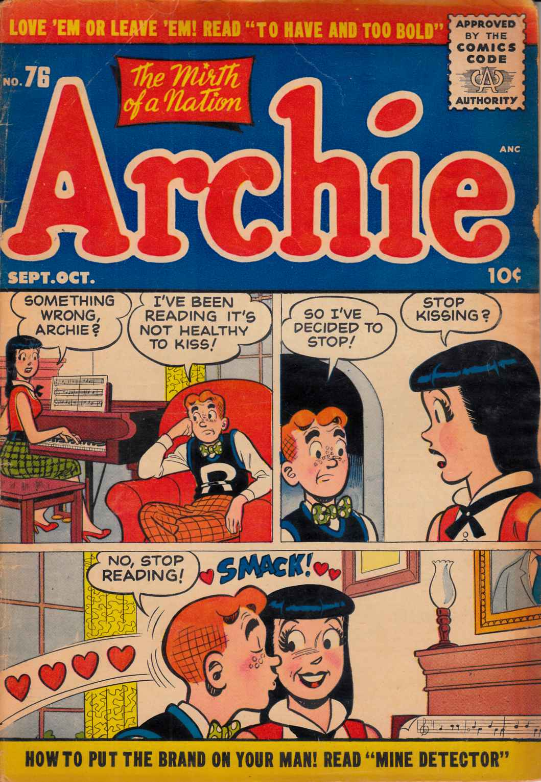 Archie #76 Very Good Minus (3.5) [Archie Comic] THUMBNAIL