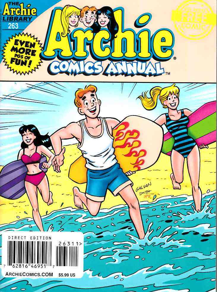 Archie Comics Annual Digest #263 [Archie Comic] LARGE
