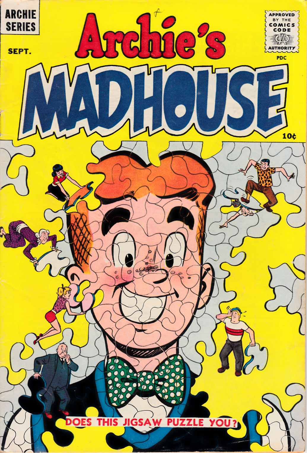 Archies Madhouse #1 [Archie Comic] LARGE