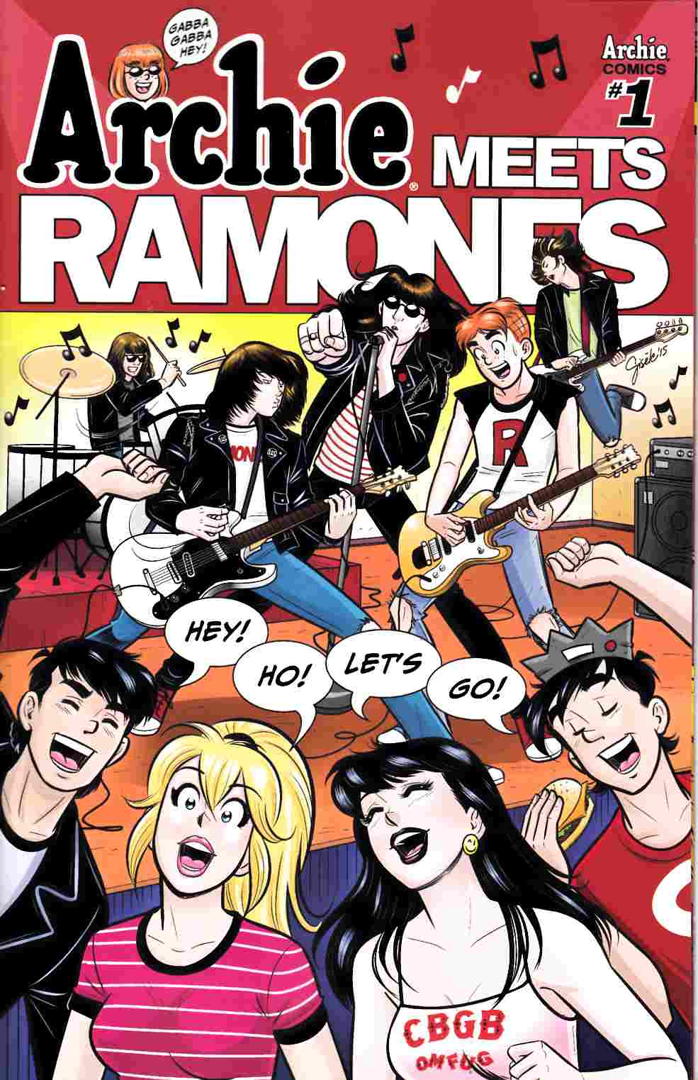 Archie Meets Ramones (One Shot) Cover A [Archie Comic] THUMBNAIL