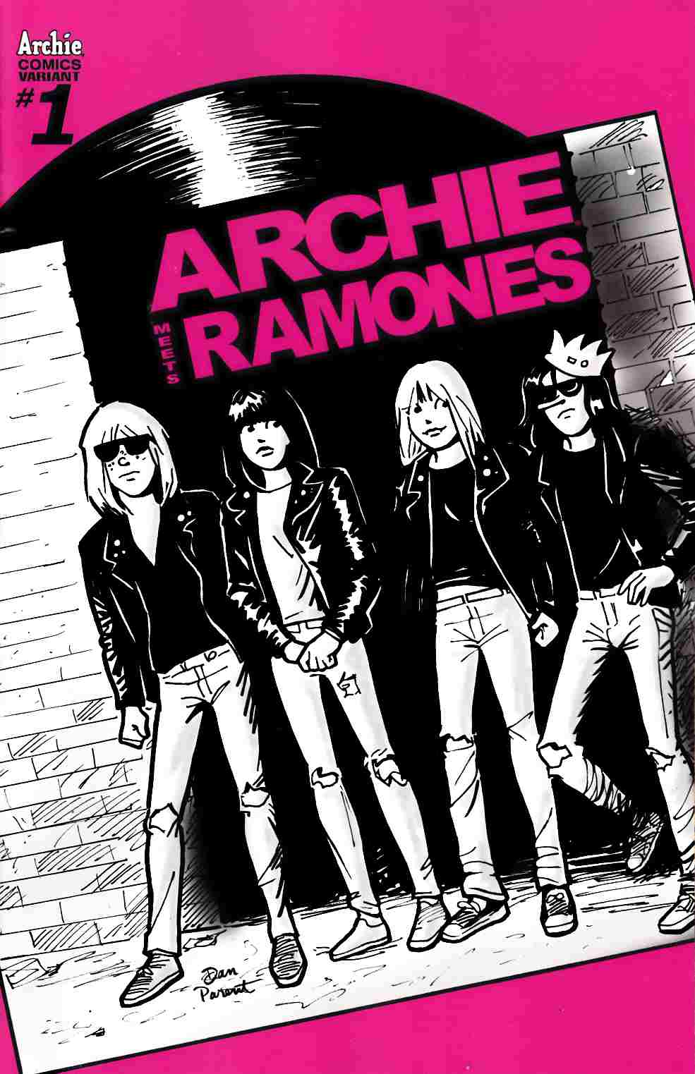 Archie Meets Ramones (One Shot) Cover D [Archie Comic]