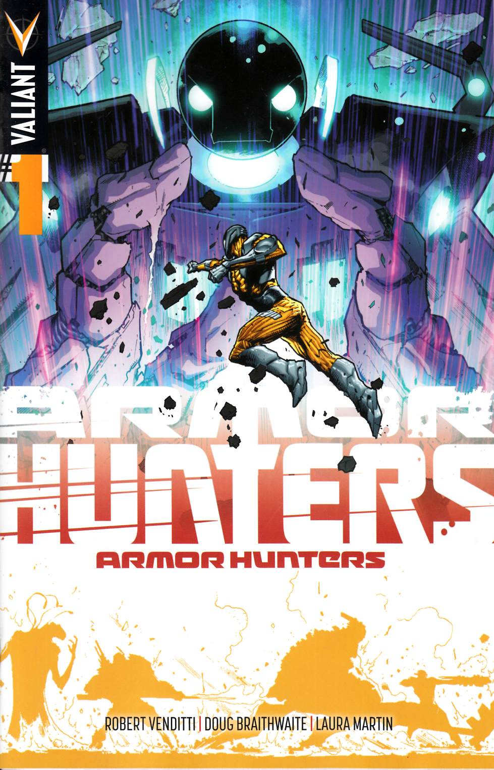 Armor Hunters #1 Hairsine Variant Cover [Comic]_THUMBNAIL
