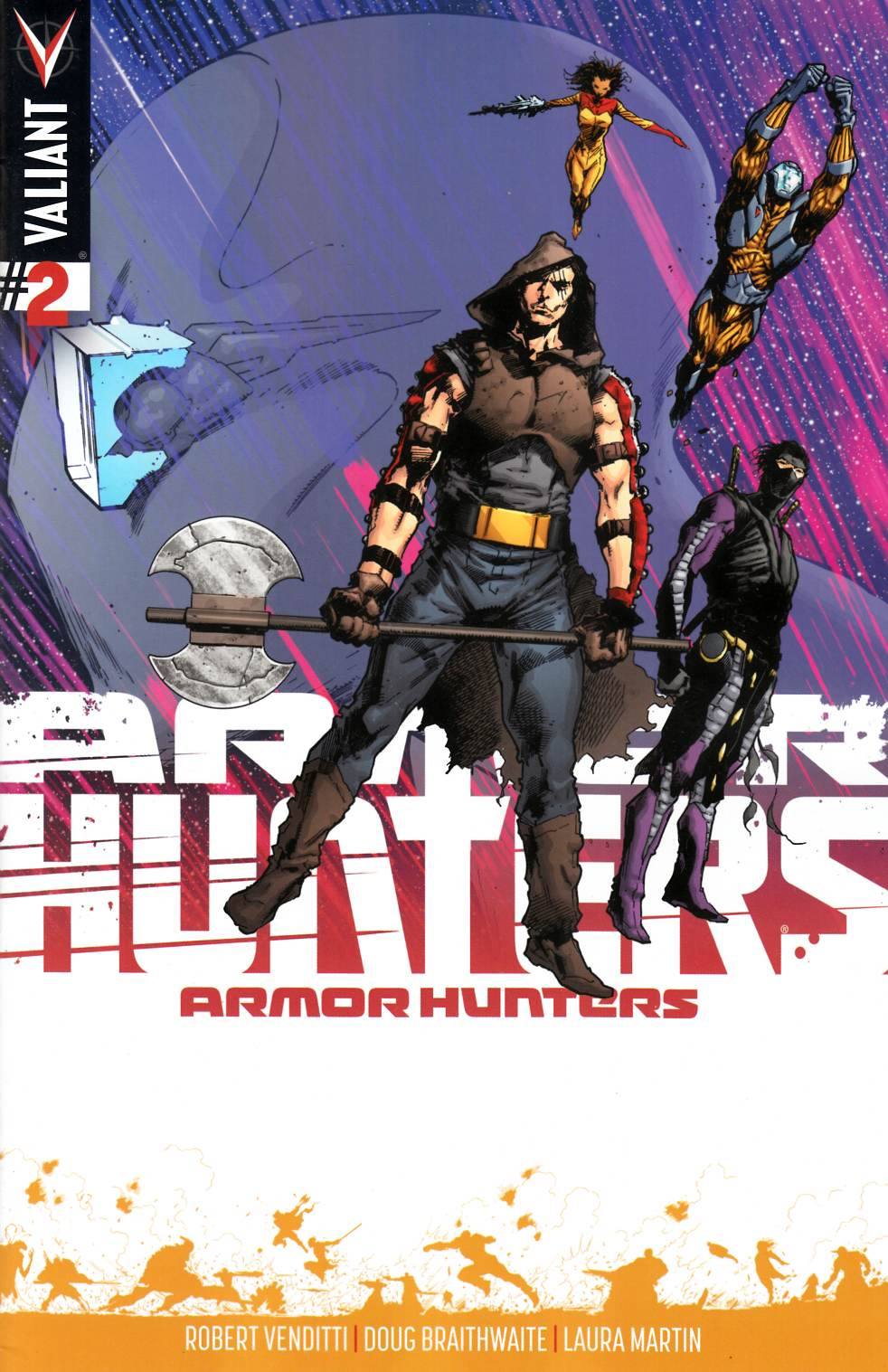 Armor Hunters #2 Hairsine Incentive Cover [Comic]_THUMBNAIL