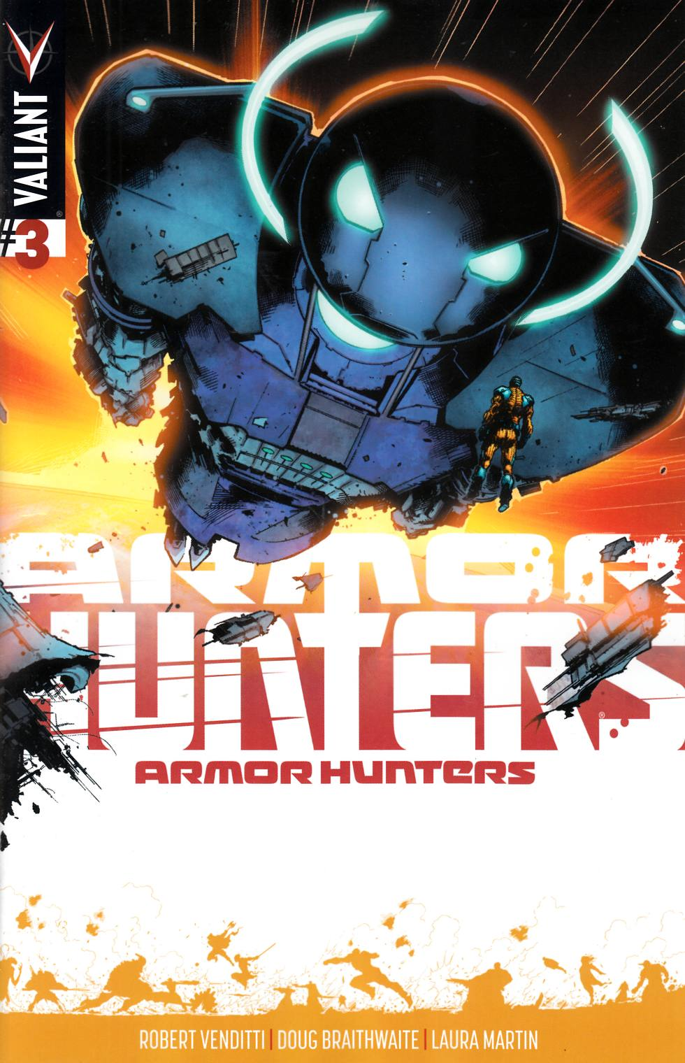 Armor Hunters #3 Hairsine Incentive Cover [Comic] LARGE