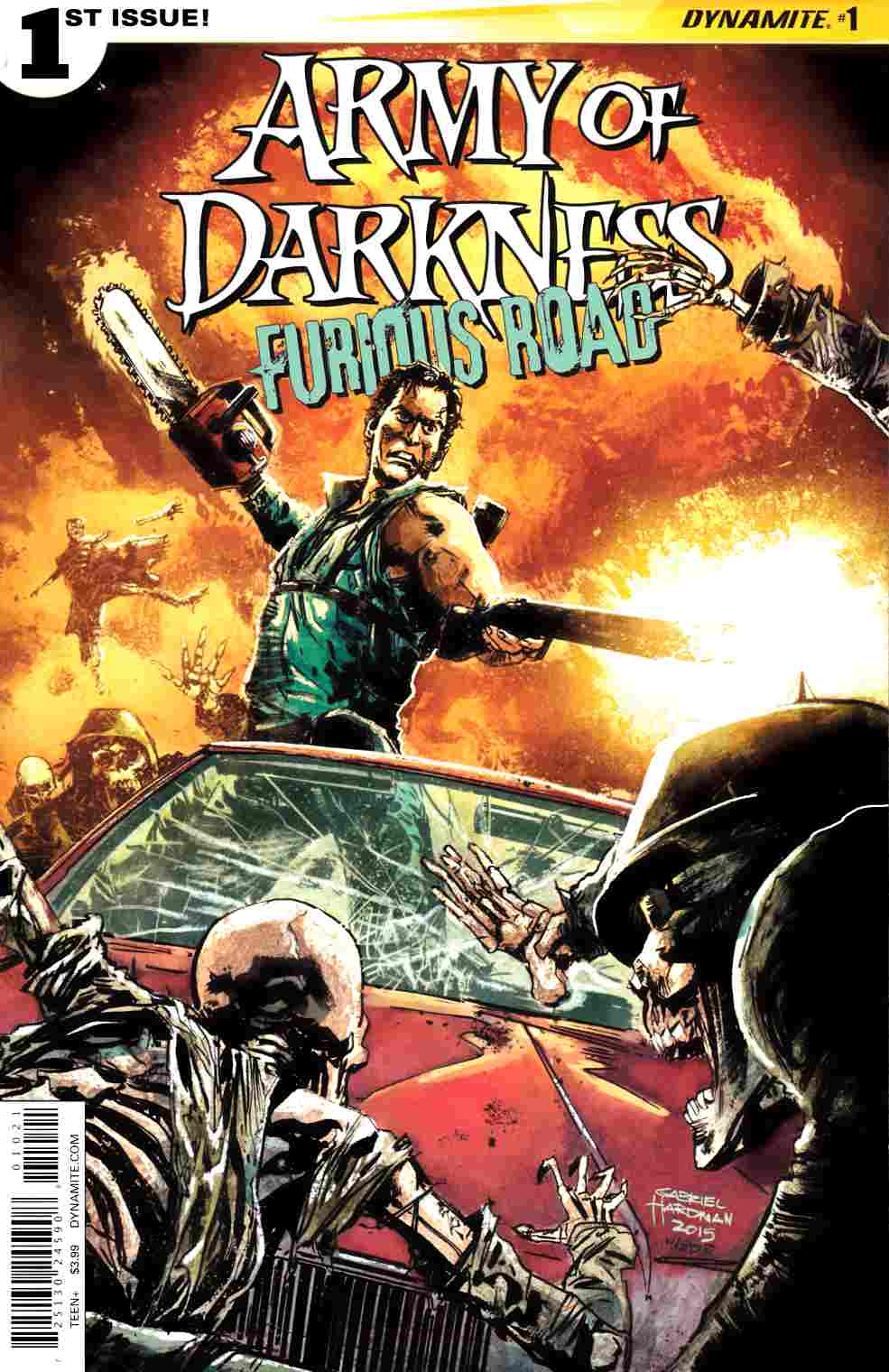 Army of Darkness Furious Road #1 Cover B- Hardman [Dynamite Comic]