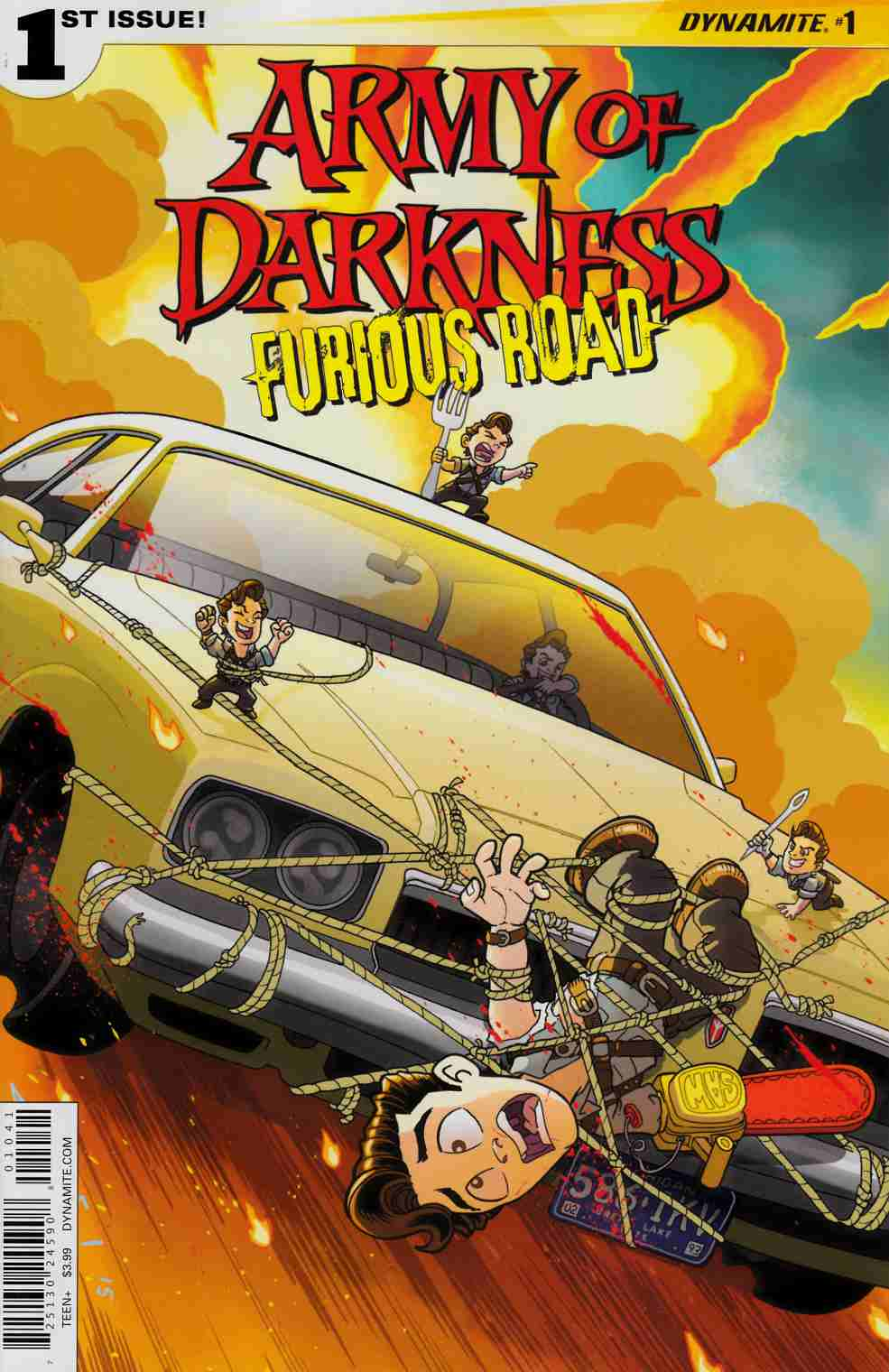 Army of Darkness Furious Road #1 Cover D- Fleecs [Dynamite Comic]