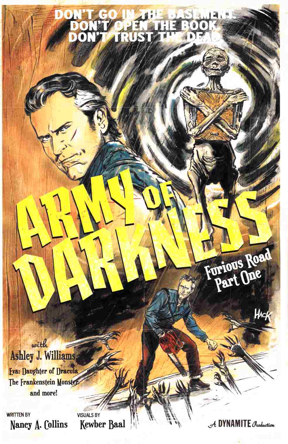 Army of Darkness Furious Road #1 Cover E- Subscription [Dynamite Comic]