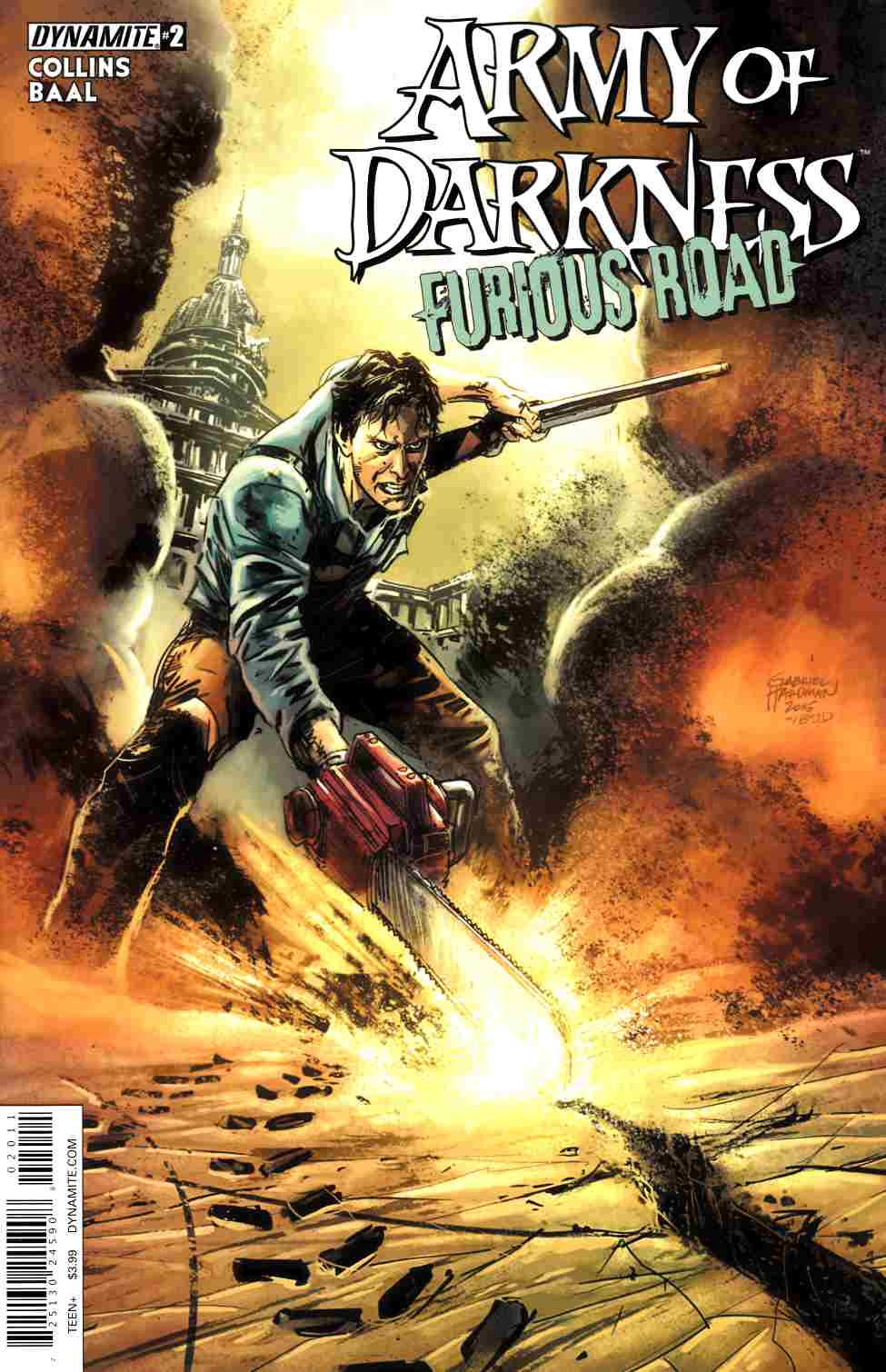 Army of Darkness Furious Road #2 Cover A- Hardman [Dynamite Comic]