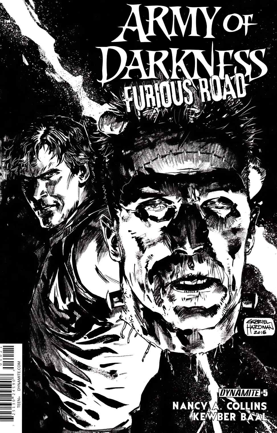 Army of Darkness Furious Road #5 Cover B- Hardman Incentive [Dynamite Comic]