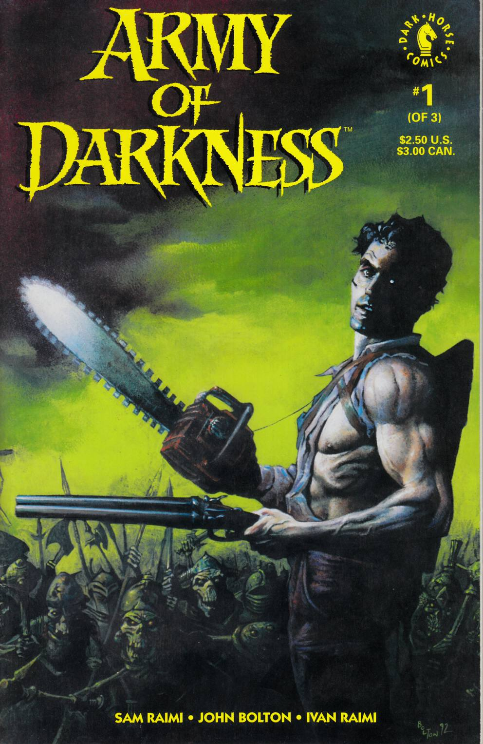 Army of Darkness #1 Fine/Very Fine (7.0) [Dark Horse Comic]_THUMBNAIL