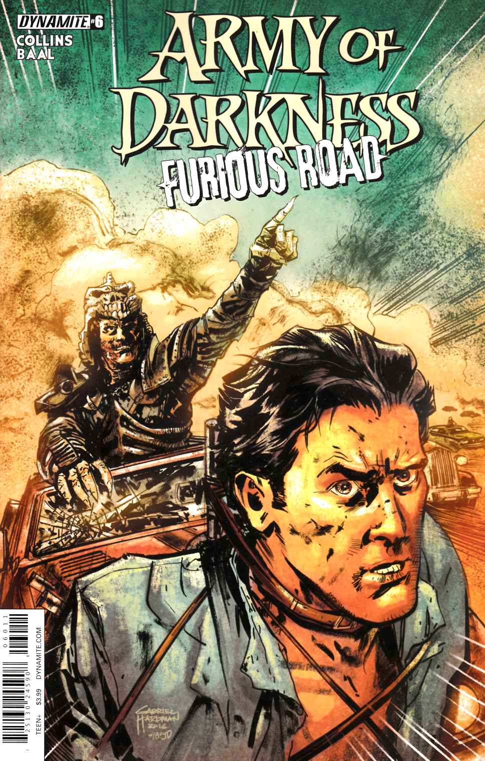 Army of Darkness Furious Road #6 [Dynamite Comic]