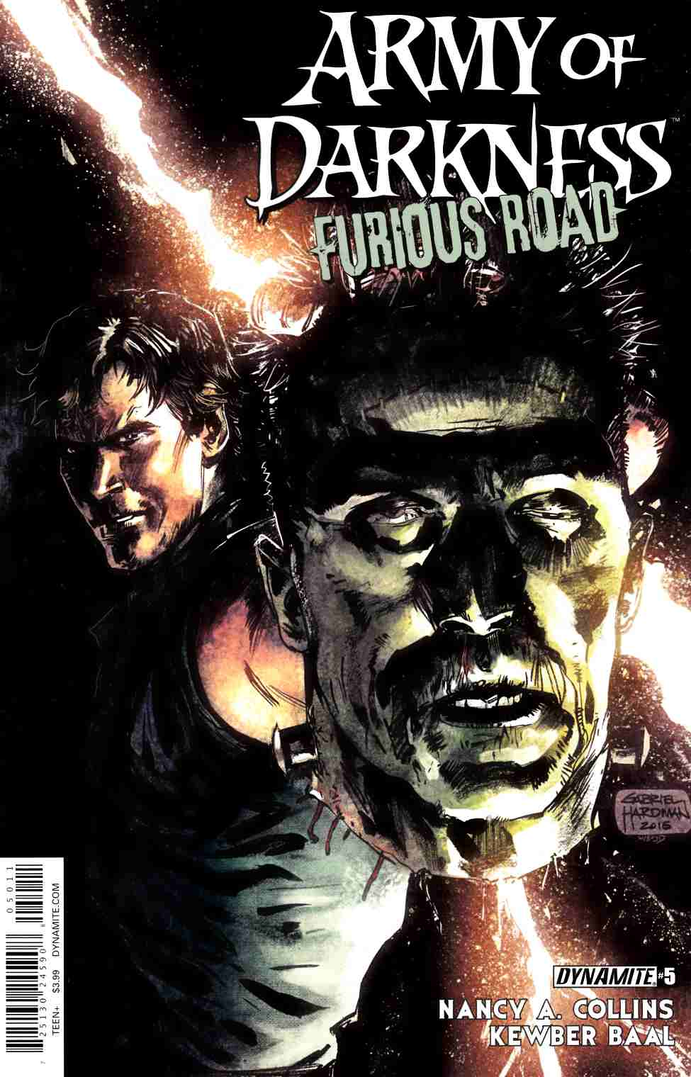 Army of Darkness Furious Road #5 Cover A [Dynamite Comic]