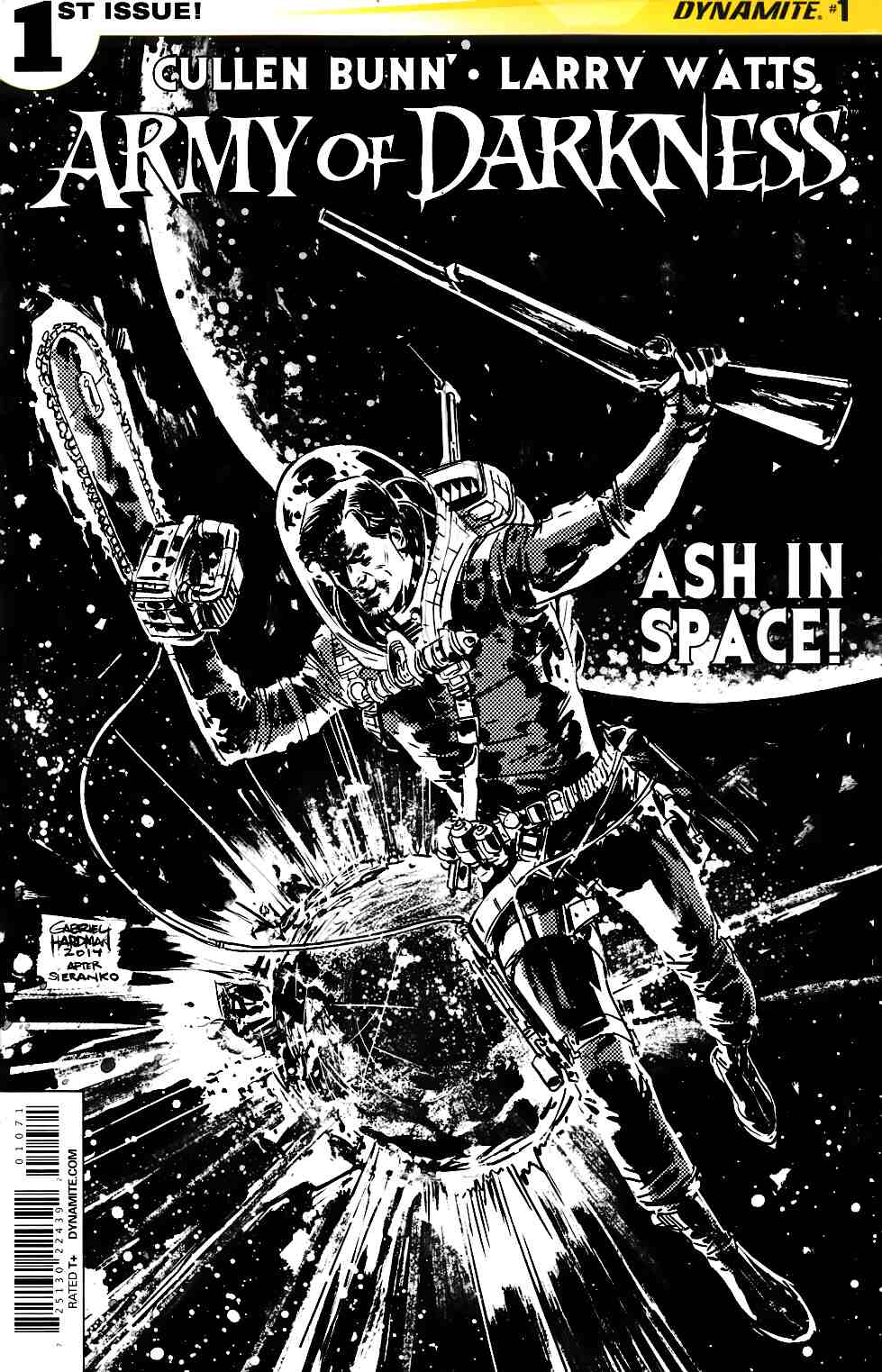 Army of Darkness Vol 4 #1 Hardman B&W Incentive Cover [Dynamite Comic] THUMBNAIL