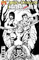 Army of Darkness vs Hack Slash #1 Seeley B&W Incentive Cover [Comic] THUMBNAIL