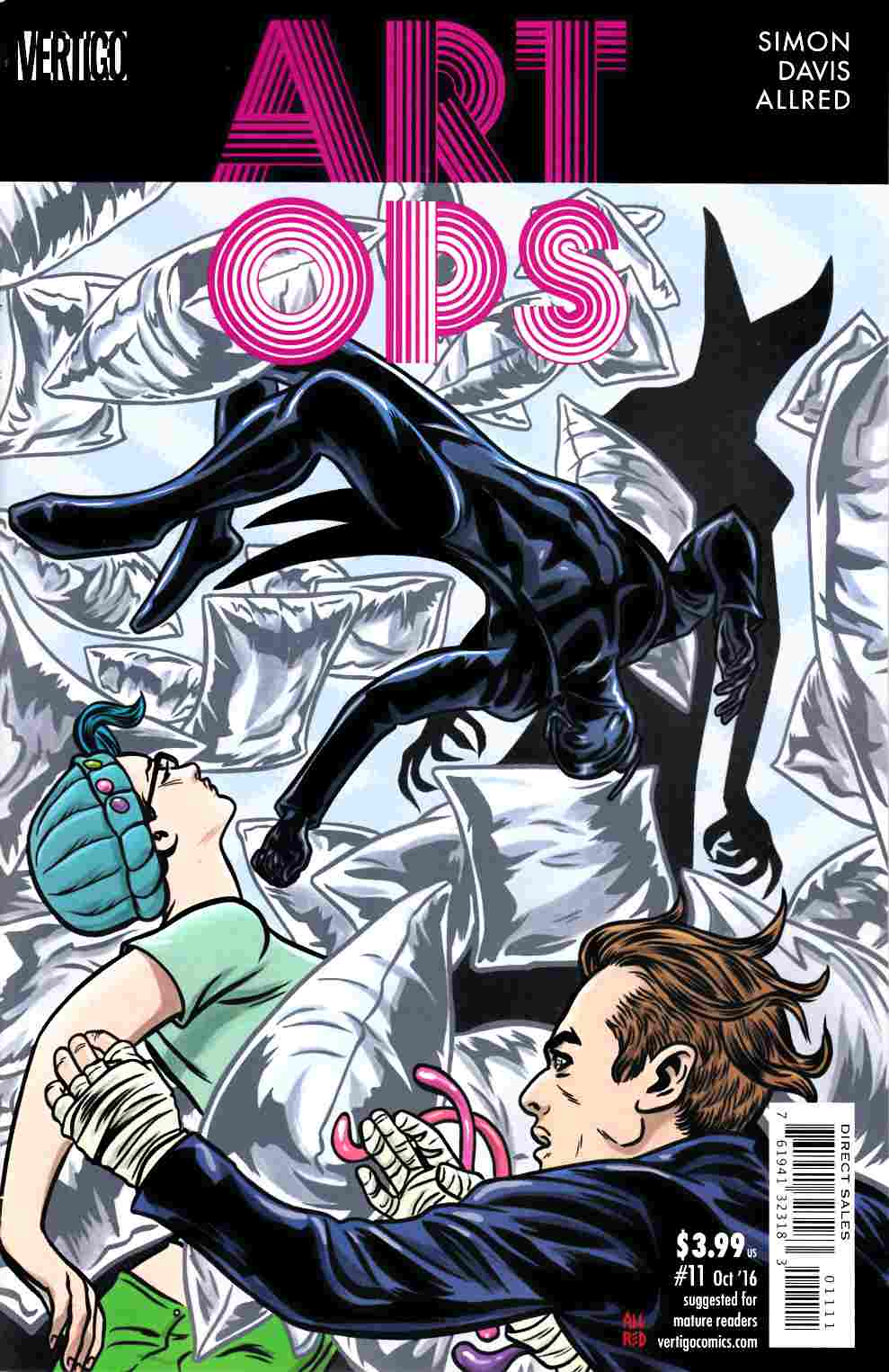 Art Ops #11 [DC Comic] LARGE